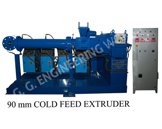 GG 90 MM Cold feed Rubber Extruder Temperature Control Unit